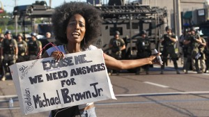 Michael-Brown-Protest-Police