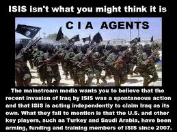 Image result for isis is cia