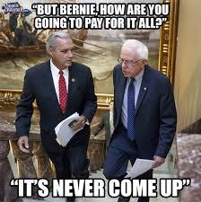 Bernie makes promises he cannotkeep.