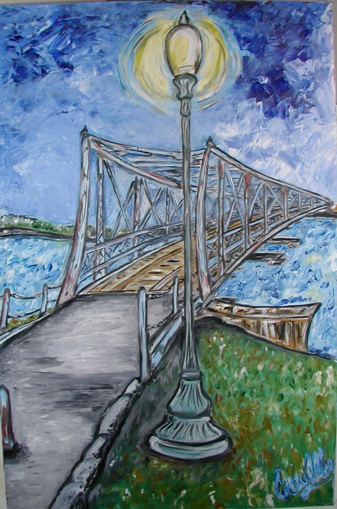 This image has an empty alt attribute; its file name is bluebridge.jpg
