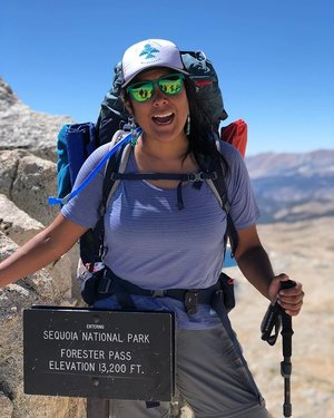 Founder, @jaylyn.gough will be embarking on an incredible journey to honor the women and girls of the #MMIW campaign. Please read below for more information and visit the link in our bio to support her trek! +++ On July 28th I will be SOLO hiking the Nüümü Poyo, aka John Muir Trail. Last summer I only hiked half (due to fires and smoke) of the trail with Paiute women who were reclaiming the trail as their ancestral trading route. I will be finishing the trail, by starting out at Bishop Pass and ending in Yosemite. For each mile I hike, I will pray for a name of a woman/girl who has been either murdered or is missing, in honor of the #mmiw campaign, that's 149 beautiful names!! If you have a loved one I can pray for, please put their name in the comments. The entirety of this hike is honoring them and their lives. I also need your help to make this trek happen. In my bio there is a link to help with an REI gift registry that will help with supplies or a go fund me site. Any help and prayers are welcomed! Thank you!!