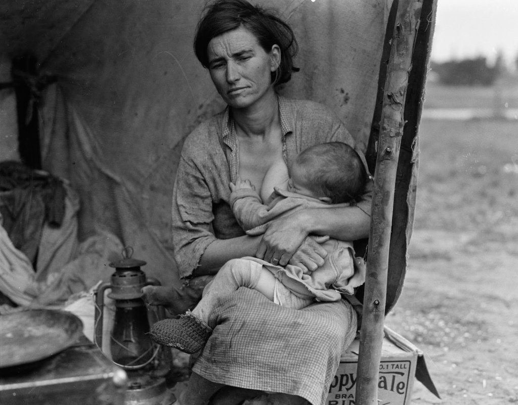 This image has an empty alt attribute; its file name is dorothea-lange-migrant-mother-series-41.jpg